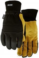 7f5b36441d6b9 Watson Gloves 9013-L - Ratchet spandex back, knit wrist, deerskin palm